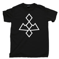 Twin Peaks T Shirt Owl Cave Symbol Ghostwood Forest White Lodge Black Lodge Red Room Black Tee