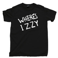 Where's Izzy T Shirt Izzy Stradlin Slash Axl Rose Duff Mckagan Steven Adler GNR Guns N Roses Concert Black Tee