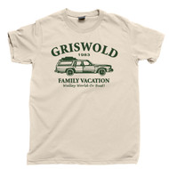 Griswold Family Vacation T Shirt Walley World Or Bust 1983 National Lampoon's Vacation 80s Comedy Movie Natural Cotton Tee
