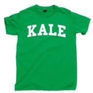 Kale T Shirt - Vegetarian, Vegan, Veggie Lover, Organic Plant Garden, Herbivore Tee