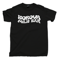 A Clockwork Orange T Shirt Korova Milk Bar Droogs Moloko Plus Vellocet Stanley Kubrick Movie Black Tee
