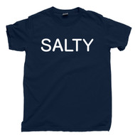 Salty T Shirt Lick Me I'm Salty Navy Blue Tee