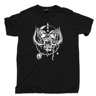 Motorhead T Shirt Warpig Snaggletooth Lemmy Kilmister Black Tee