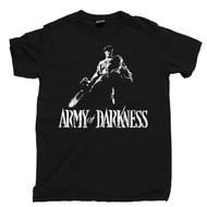 Army Of Darkness T Shirt Bruce Campbell Evil Dead Black Tee