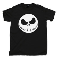 Nightmare Before Christmas T Shirt Jack Skellington Pumpkin King Black Tee