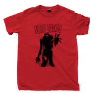 Return Of The Living Dead Red T Shirt Tarman More Brains Zombie Movie Tee
