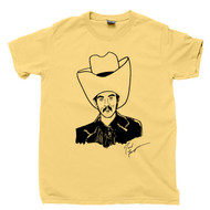 Autographed Turd Ferguson T Shirt  Alex Trebek Will Ferrell Sean Connery SNL Celebrity Jeopardy Yellow Tee