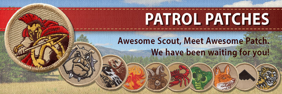 boy scout patrol patches