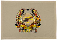 Custom Flaming Arrow Patrol Patch Flag with Colored Wings (SP5780)