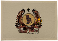 Custom Rocking Chair Patrol Patch Flag with Colored Wings (SP5760)