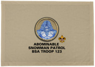 Custom Abominable Snowman Patrol Patch Flag (SP 5987)