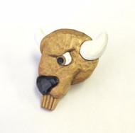 Wood Badge® Buffalo Neckerchief Slide
