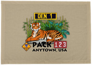 Custom Tiger Den Flag (SP5930)