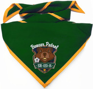 Custom Beaver Patrol Neckerchief  (SP5947)