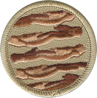 Official Licensed Bacon Patrol Patch