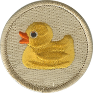 Official Licensed Rubber Ducky Patrol Patch
