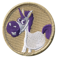 Official Licensed Cartoon Unicorn Patrol Patch