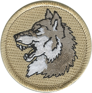 Wolf Head Patrol Patch
