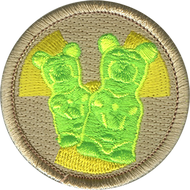 Official Licensed Radioactive Gummy Bear Patrol Patch