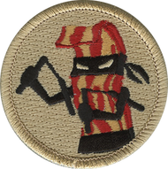Official Licensed Bacon Ninja Patrol Patch