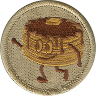 Official Licensed Pancake Patrol Patch