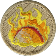 Official Licensed Flaming Tacos Patrol Patch