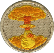 Official Licensed Nuclear Rubber Ducky Patrol Patch