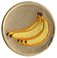 Official Licensed Banana Patrol Patch