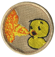 Official Licensed Fire Breathing Ducky Patrol Patch