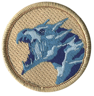 Official Licensed Ice Dragon Patrol Patch