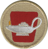 Official Licensed Leadership Lamp Patrol Patch