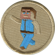 Official Licensed 8-Bit Kid Patrol Patch