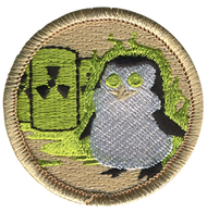 Official Licensed Nuclear Penguin Patrol Patch
