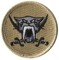 Dark Sabers Patrol Patch