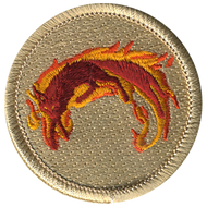 Flaming Fox Patrol Patch