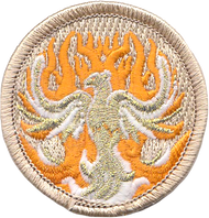 Glow Phoenix Patrol Patch