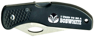 Wood Badge Bobwhite Critter Head Lockback Knife