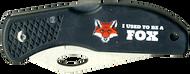 Wood Badge Fox Critter Head Lockback Knife
