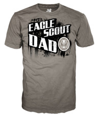 Eagle Scout Dad Splatter T-shirt (SP6374)