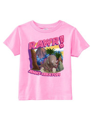 Rawr! Dinosaur Custom Toddler Tee (SP6371)