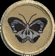 Butterfly Skull Patrol Patch