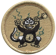Stinky Monkey Patrol Patch