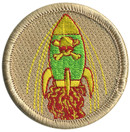 Radioactive Rocket Patrol Patch
