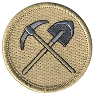 Axe and Shovel Patrol Patch