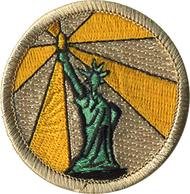 Light and Liberty Patrol Patch