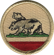 California Patrol Patch