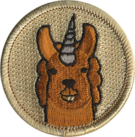 Llamacorn Patrol Patch