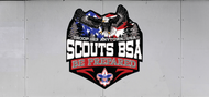 Custom Scouts BSA Troop Trailer Graphic Be Prepared (SP6486)
