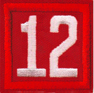Double Number Cub Scout Pack Unit Numeral Patch