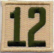 Double Number Boy Scout Troop Unit Numeral Patch